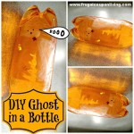 Halloween Flaschengeist Basteln